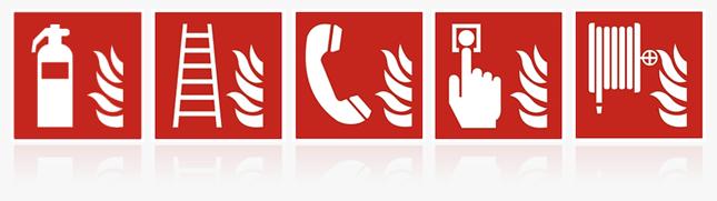 Brandschutzzeichen ISO 7010